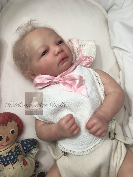 Honeybug VINTAGE Magnetic Pacifier reborn art doll baby newborn ROSE PINK
